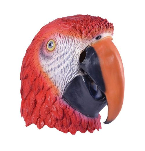 Parrot Mask Tropical Bird Animal Fancy Dress